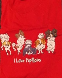 I Love Papillons T-Shirt