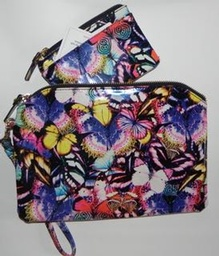Butterfly Clutch and Change Purse