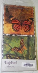 Stone Butterfly Coasters