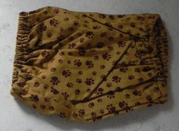 Gold and Brown Paw Print Snood