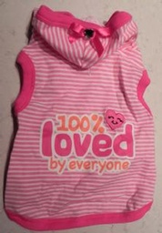 !00% Loved By Everyone Hooded Shirt