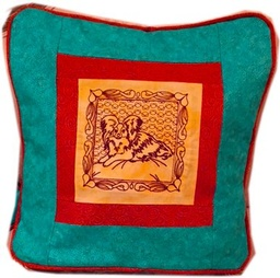 Embroidered Pillow Cover - 16 inch