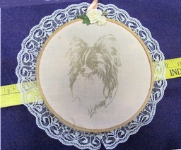 HOOP ART Papillon in Gold - small
