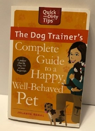 The Dog Trainer's Guide - book