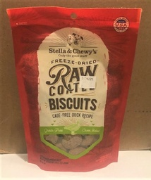 9 oz Stella & Chewy's Freeze dried RAW coated biscuits