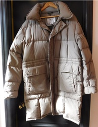 Men's Winter Goose Down Coat - XL
