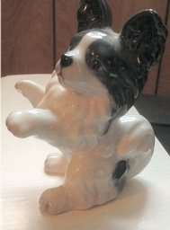 Papillon Statue Sitting Up