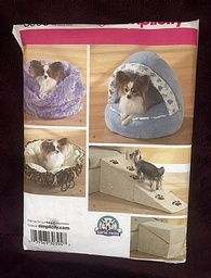 Pattern for cute Dog Bed and Items