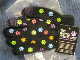Paw Print Gloves -  One Size
