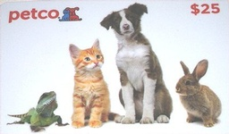 PetCo $25 Gift Card