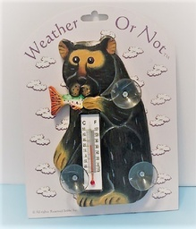 Outdoor Thermometer - black bear  $4.00