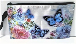 Silky butterfly  jewelry bag with ribbom