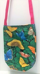 Butterfly fabric tote