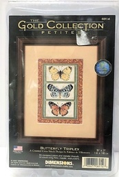 Counted Cross Stitch kit 3 butterfly