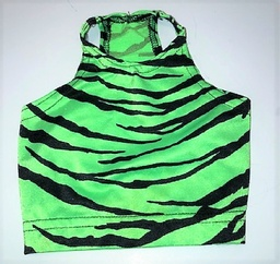Green tiger muscle shirt Small